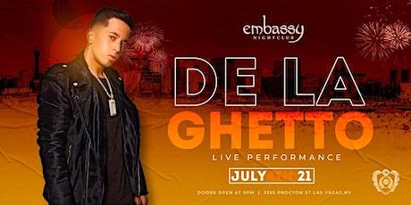 DE LA GHETTO LIVE IN CONCERT tickets
