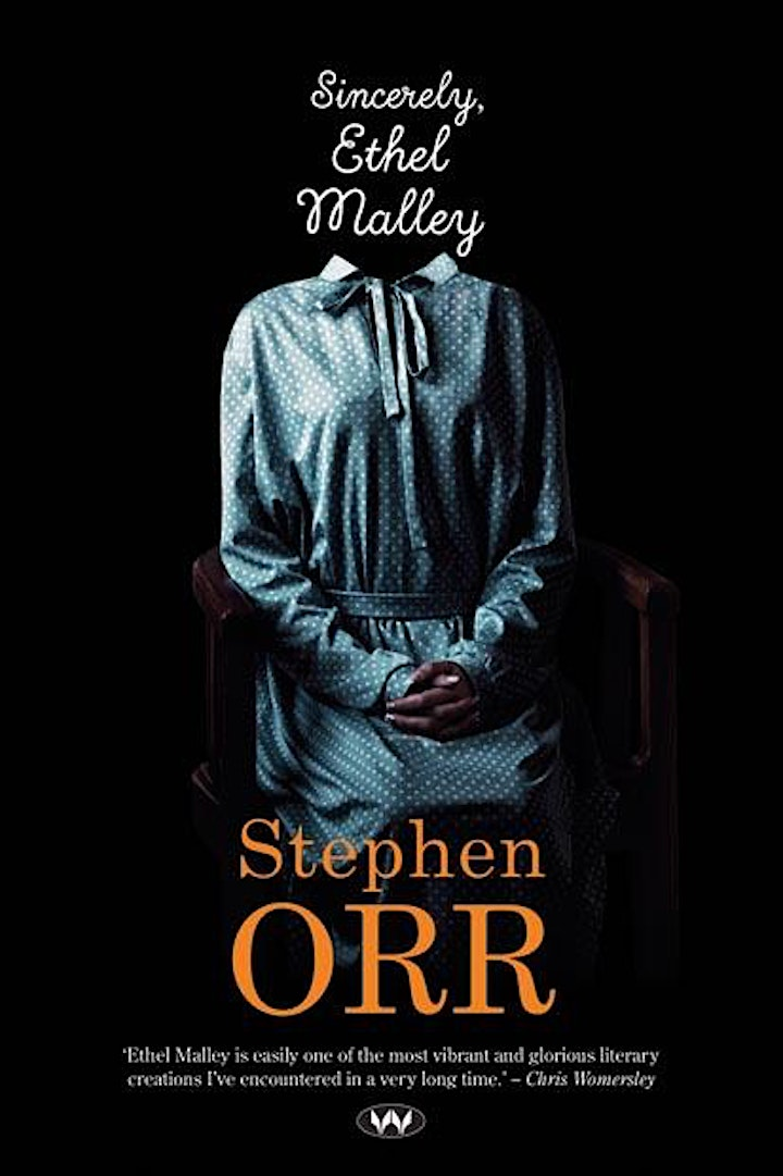 Meet the Author: In conversation with Stephen Orr 'Sincerely, Ethel Malley' image