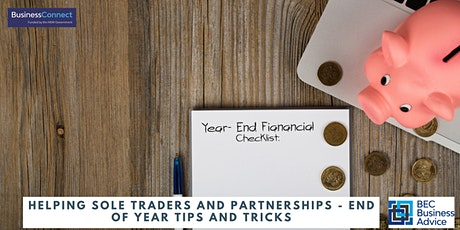 Helping Sole Traders and Partnerships - End of year tips and tricks tickets