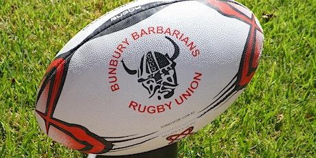 Bunbury Barbarians Junior Rugby Club Fundraiser tickets