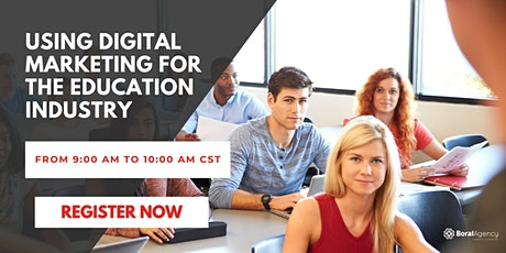 Using Digital Marketing for the Education Industry tickets