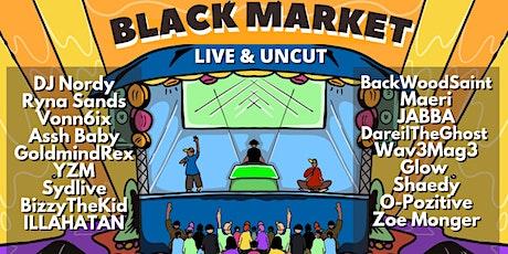 THE BLACK MARKET. LIVE MUSIC FLEAMARKET tickets