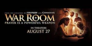 WAR ROOM - Pastor's Advance Screening (Shell Harbour)