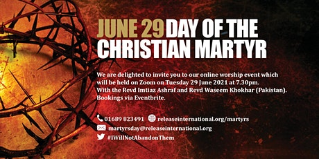 Day of the Christian Martyr tickets
