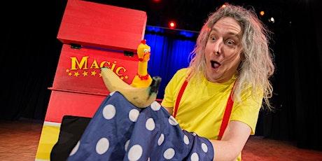 School Holiday Program: Steve the Magician's Magic Workshop tickets