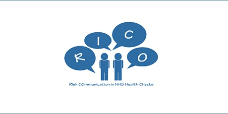RIsk COmmunication in NHS Health Check (RICO) Webinar biglietti