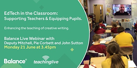 EdTech in the Classroom: Supporting Teachers and Equipping Pupils. tickets