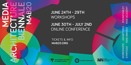 Media Architecture Biennale - MAB20 tickets