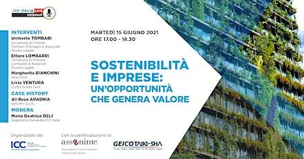 Sostenibilità e Imprese: un'opportunità che genera valore biglietti