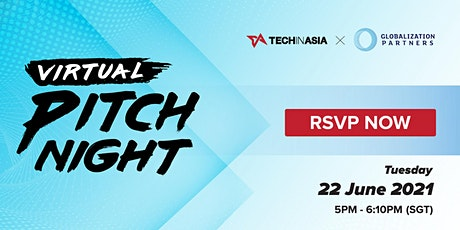 Virtual Pitch Night tickets