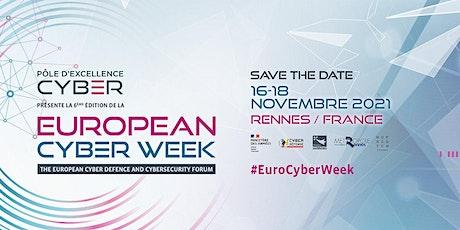 European Cyber Week 2021 billets