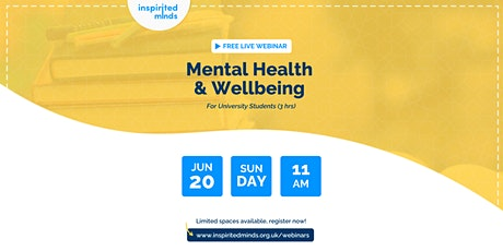 Mental Health & Wellbeing Training For University Students tickets
