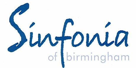 Sinfonia of Birmingham tickets