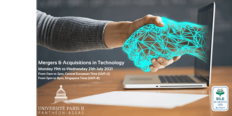 Mergers & Acquisitions in Technology tickets