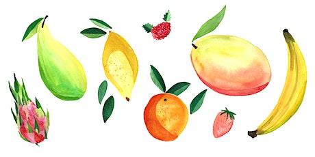 Watercolour Workshop : Fruit Cocktail tickets