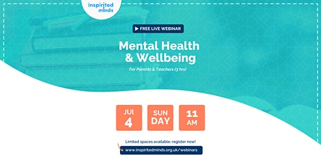 Mental Health & Wellbeing Training For Parents and Teachers tickets
