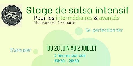 Stage Salsa intermédiaire - Sauce Cubaine billets
