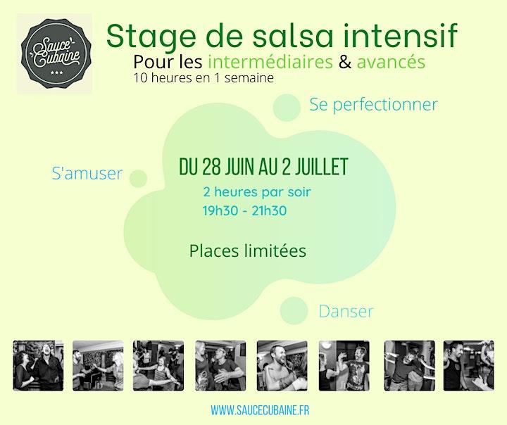 Image pour Stage Salsa intermédiaire - Sauce Cubaine