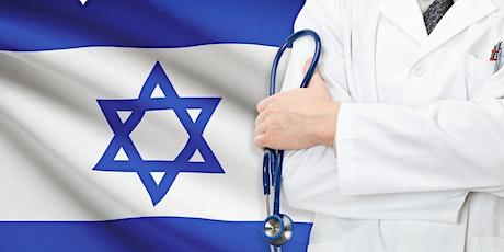 El sistema de salud  en Israel bilhetes
