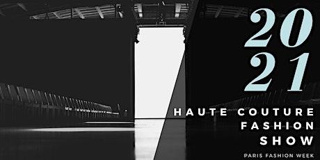 FASHION WEEK PARIS HAUTE COUTURE HOMMES billets