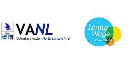 [Postponed] North Lanarkshire CVS Real Living Wage Event tickets