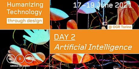 Humanizing Artificial Intelligence Through Design biglietti