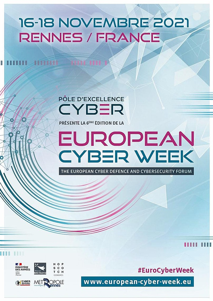 Image pour European Cyber Week 2021