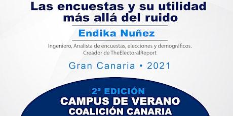 Apertura II Campus de verano CC y conferencia Endika Nuñez entradas