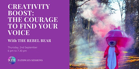 Pathways Sessions: Creativity Boost - The courage to find your voice tickets