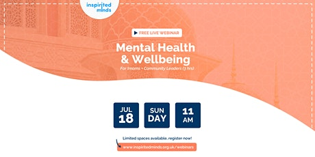 Mental Health & Wellbeing Training For Imams and Community Leaders tickets