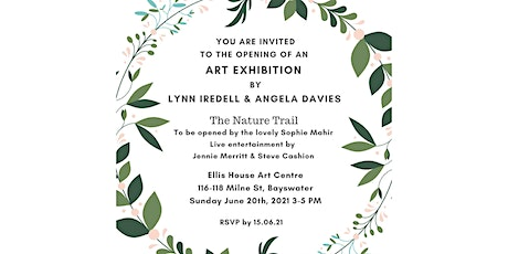 The Nature Trail Exhibition Opening tickets