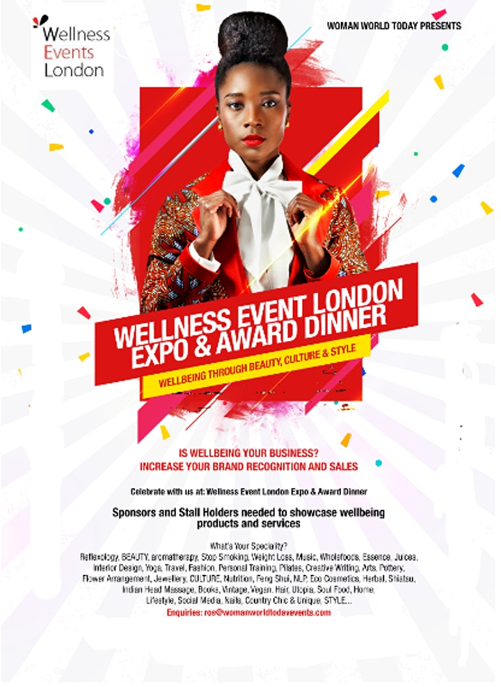 Woman World Today Wellness  Event Expo & Awards image