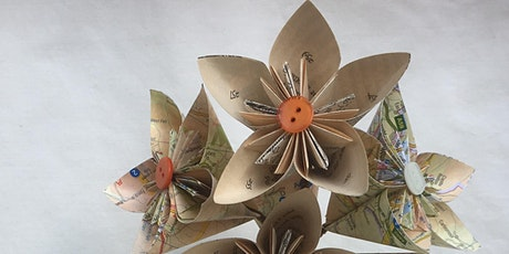 Craft and Chat - Book Page Paper Flowers tickets