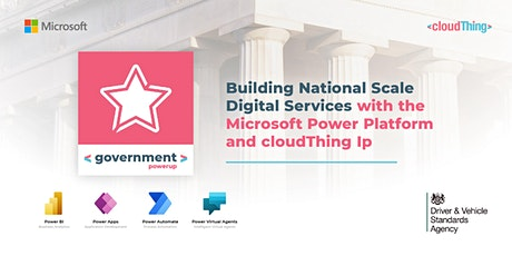 Building National Scale Digital Services with Microsoft Power Platform tickets