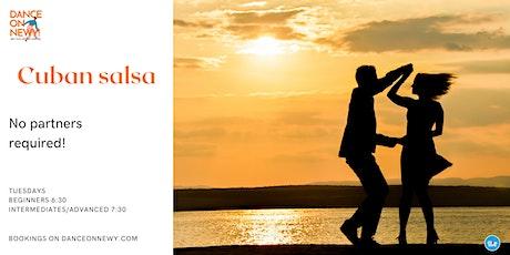 Dance Classes - Cuban Salsa tickets