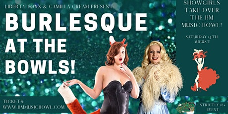 Burlesque at the bowls tickets