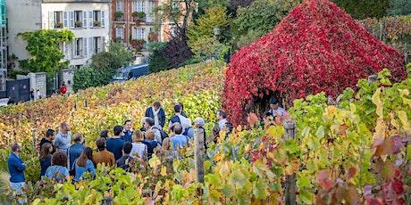Visite de la vigne du Clos Montmartre tickets