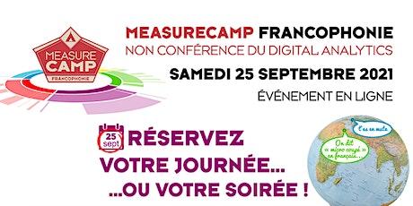 MeasureCamp Francophonie édition 2021 billets