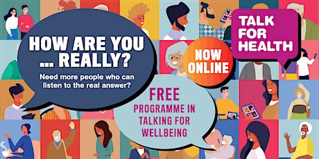 Talk for Health Taster: Learn to Talk for a Fit Mind biglietti