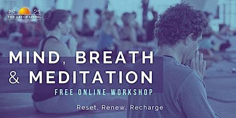 Mind, Breath, and Meditation - An Intro to SKY Breath Meditation Canada tickets
