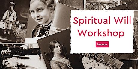 huunuu Spiritual Will Workshop tickets