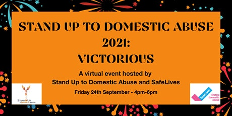 Stand Up To Domestic Abuse 2021 tickets