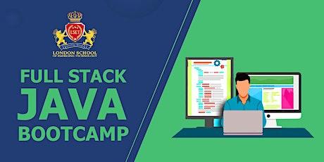 Full Stack Java Bootcamp entradas