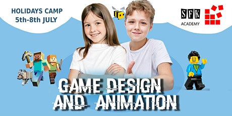 Game Design and Animation Camp tickets