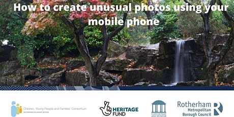 Get Creative and take unusual photos using your mobile phone tickets