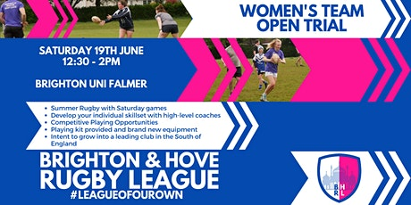 Women's Open Trial: Brighton & Hove Rugby League tickets