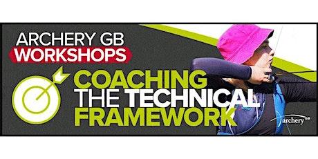 Coaching the Technical Framework tickets