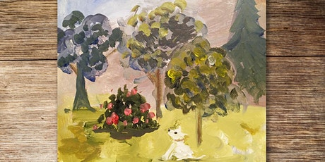 Craft & Chat: Painting trees in an imaginary landscape tickets