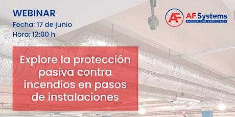 Explore la protección pasiva contra incendios en pasos de instalaciones entradas
