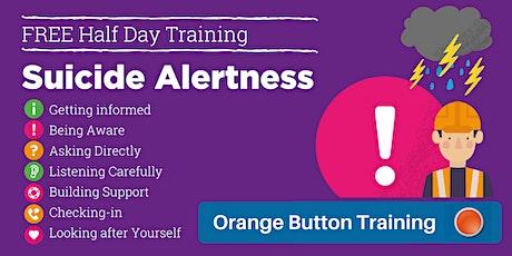 Suicide Alertness: Orange Button Training (Millom) tickets